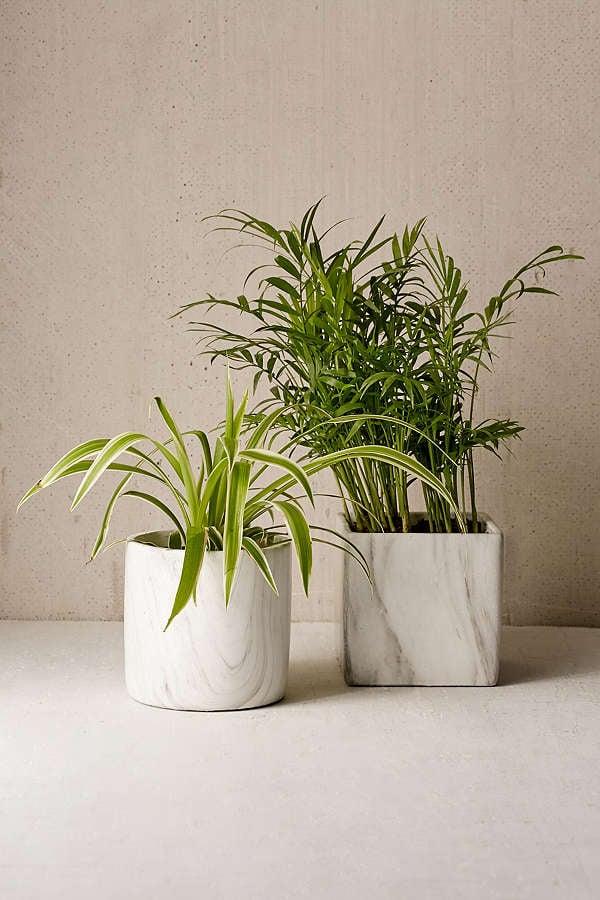 Marble Terra Cotta Planter