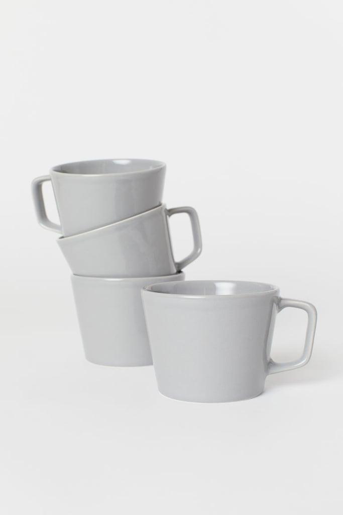 H&M 4-Pack Ceramic Cups