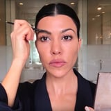 Kourtney Kardashian Is Fully Aware Her Makeup Routine Is Nothing Like Her Sisters