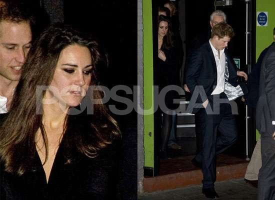 Photos of Prince William, Prince Harry, Kate Middleton at Sherlock Holmes Premiere