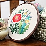 Cross Stitch Stamped Embroidery Kit