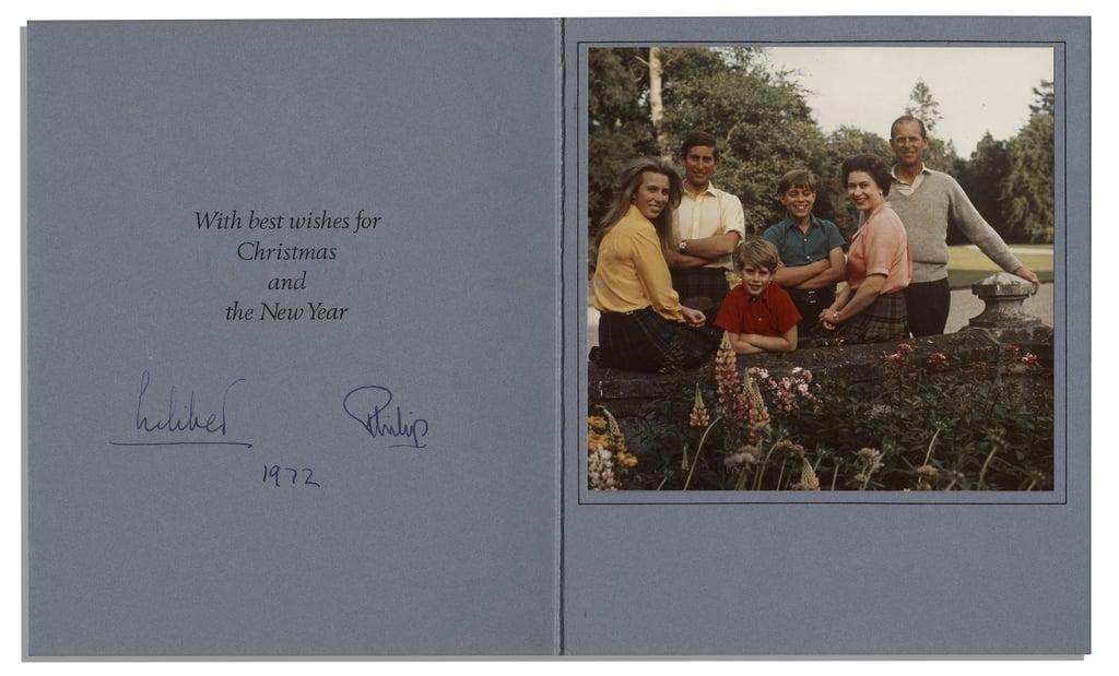 بطاقة من الملكة، 1972