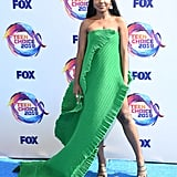 Ryan Destiny at the 2019 Teen Choice Awards