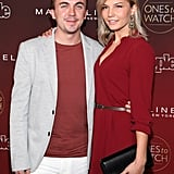 Frankie Muniz and Paige Price