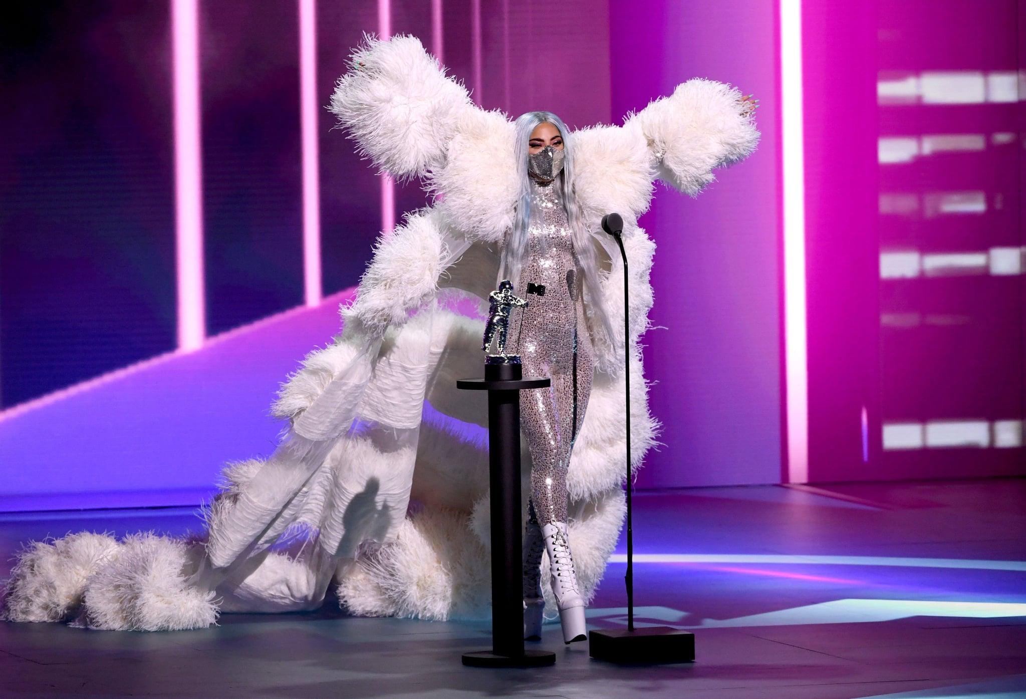 Lady Gaga S Face Masks At The Mtv Vmas 2020 Popsugar Fashion