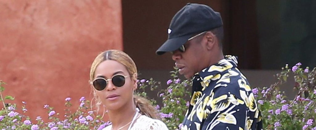 Beyoncé and Jay Z Take a Casual Stroll During Their Vacation in Italy