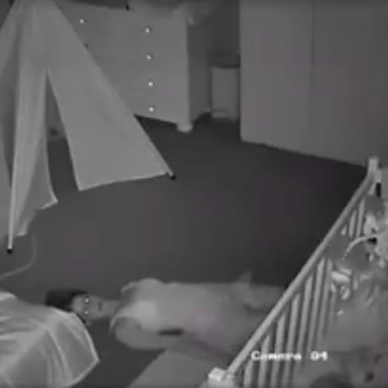 Mom Escaping From Nursery After Bedtime Video