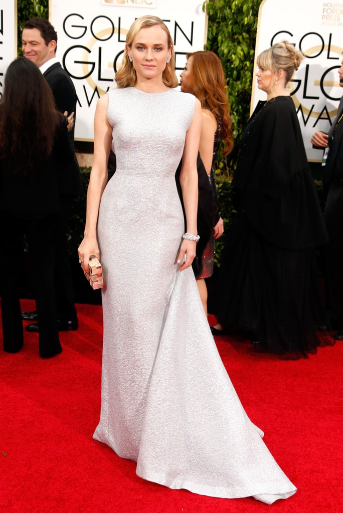 Diane Kruger at the 2015 Golden Globe Awards