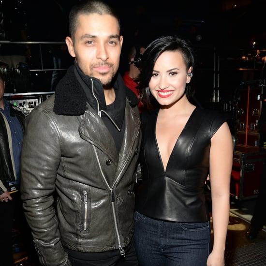 Wilmer Valderrama Posts Cute Selfie With Demi Lovato