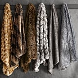 Williams Sonoma Faux Fur Throw