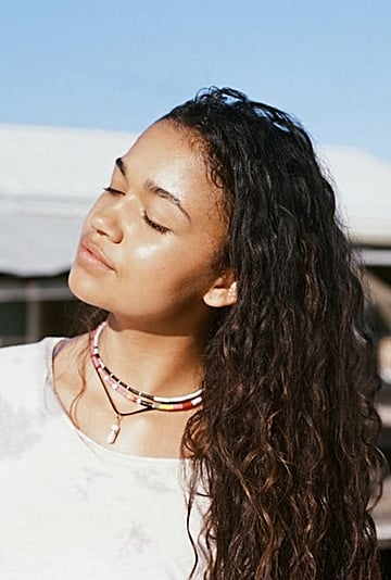 Kiara's Beaded Necklaces on Outer Banks by Elsie Frieda