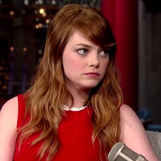Emma Stone Interview on Letterman July 2014 | Video