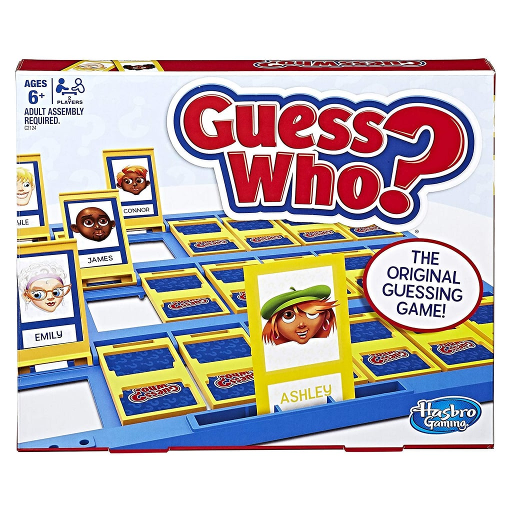 For 6-Year-Olds: Hasbro Guess Who? Classic Game