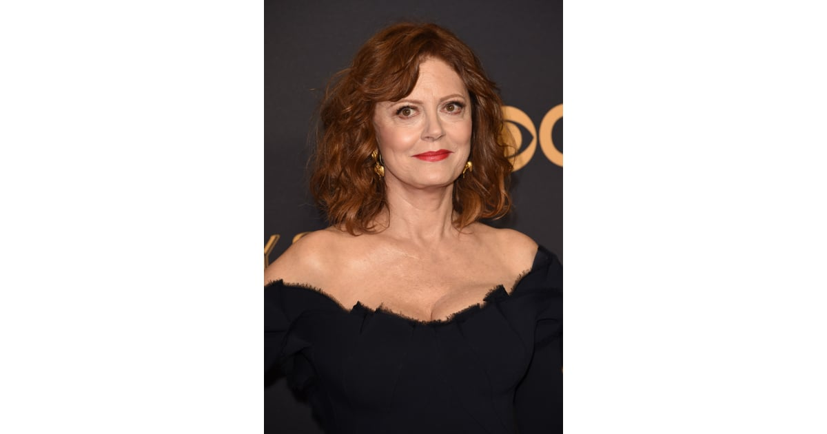 Susan Sarandon | Women Over 50 Beauty Looks at the 2017 Emmy Awards ...