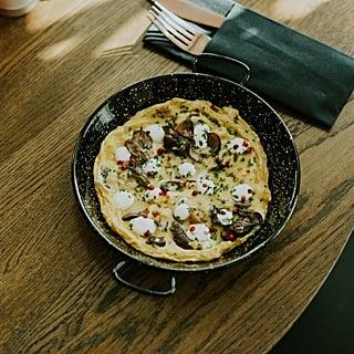 Wild Mushroom Omelet