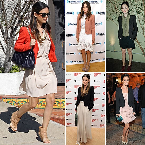 Rachel Bilson Loves Her Vanessa Bruno Blazers! See How She Wears Hers, Then Shop Similar!