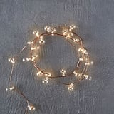 Stargazer Glass Bubble Lights, 15' Battery Powered
