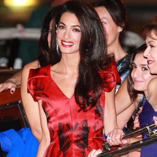 Amal Clooney Party Outfits