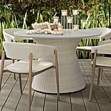 Pottery Barn Antigua All-Weather Wicker Dining Table