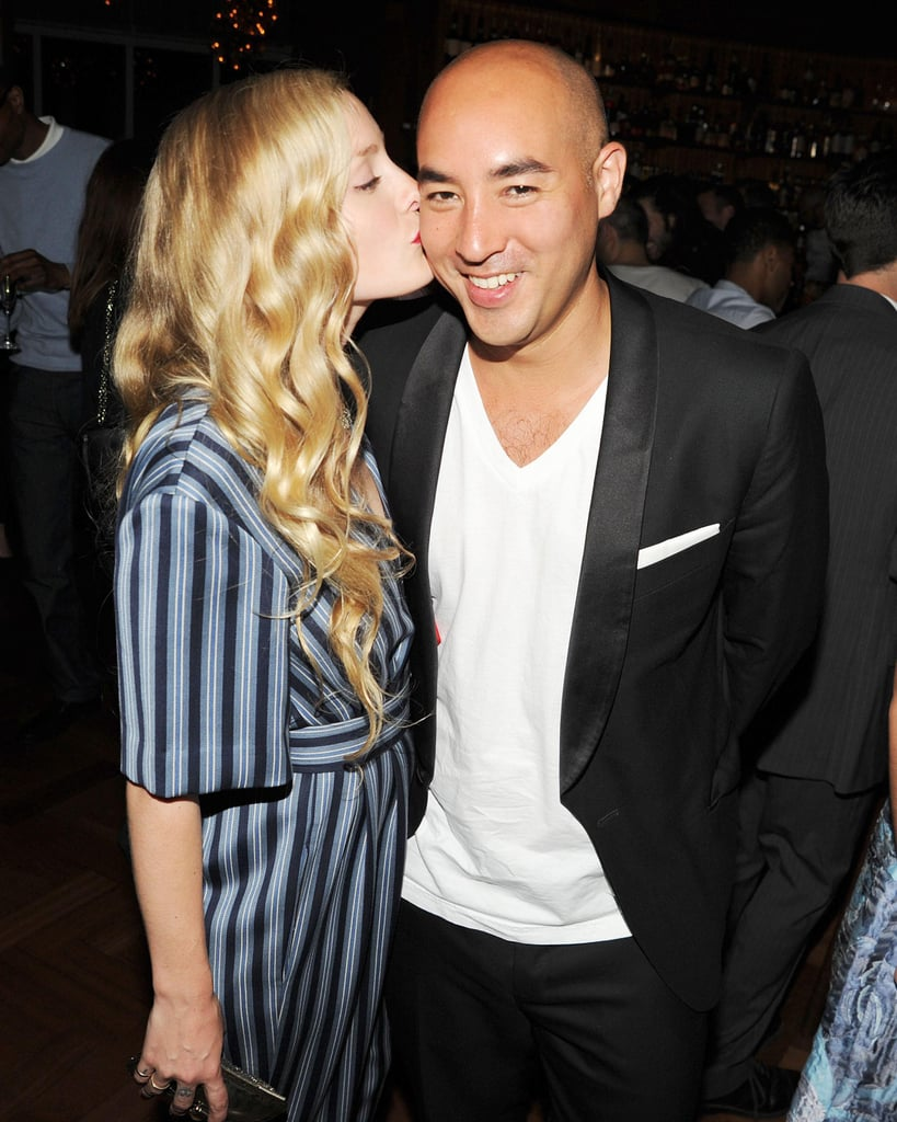 Kate Foley and Max Osterweis at the Swarovski afterparty in New York. Photo: Billy FarrellBFAnyc.com