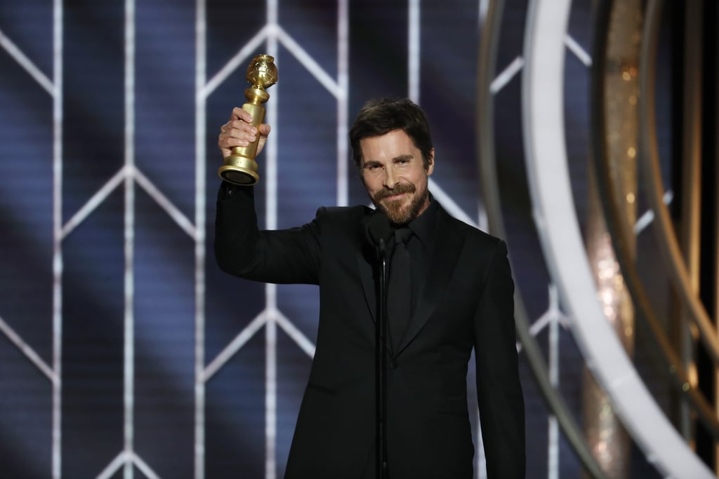 Christian Bale at the 2019 Golden Globes