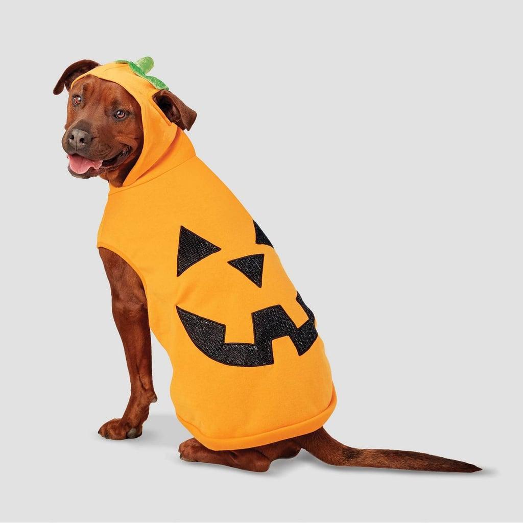 Pumpkin Halloween Dog Hoodie