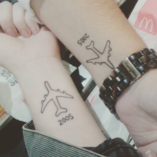 Travel Tattoos For Best Friends