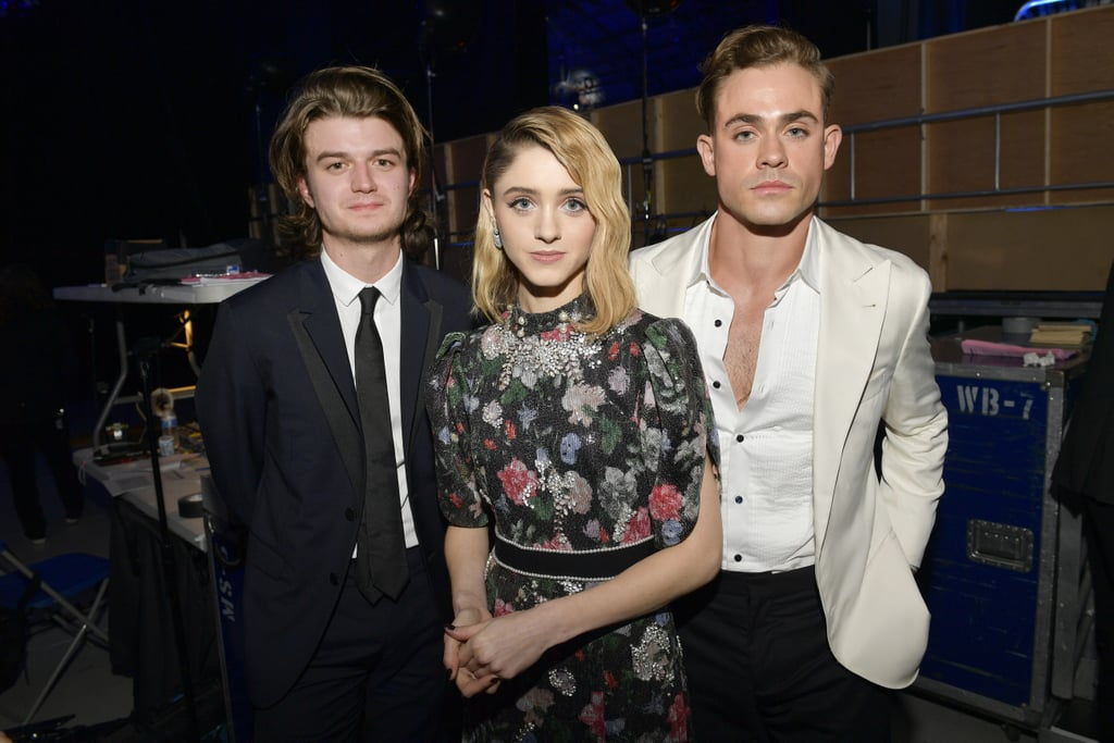 Pictured: Joe Keery, Natalia Dyer, and Dacre Montgomery