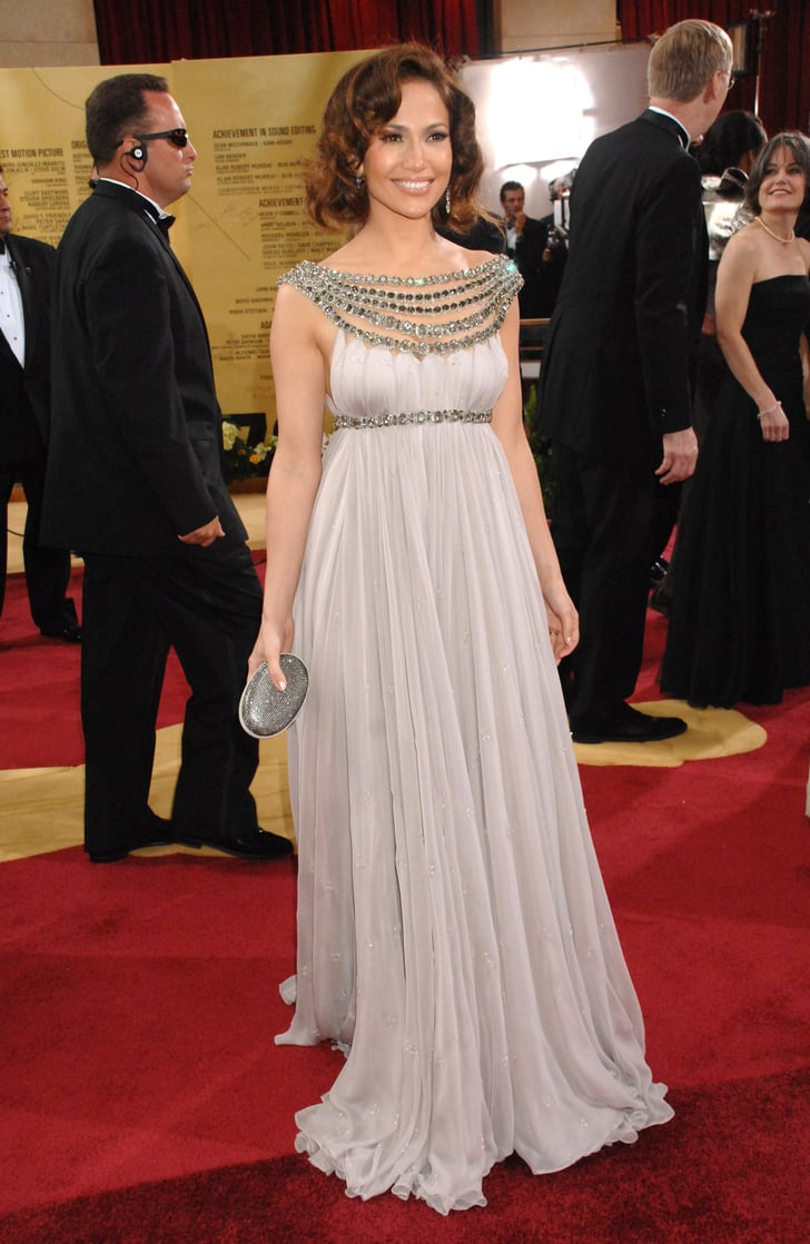 Glam For The 2007 Oscars In A Standout Marchesa Gown