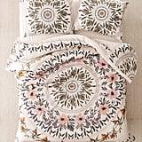 Iris Sketched Floral Comforter Snooze Set