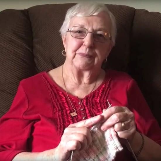 Great-Grandma Knits Hats For Newborns