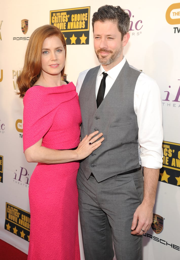 Amy adams posed with her husband darren le gallo couples at amy adams posed with her husband darren le gallo sciox Gallery