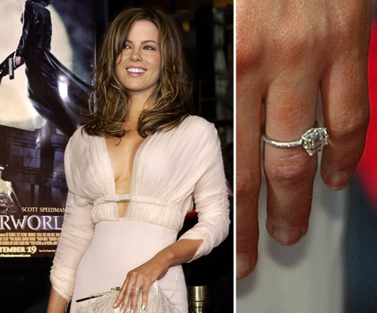 Kate Beckinsale Celebrity Engagement Ring Pictures