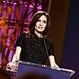 "Angelina Jolie Honours Women Who ""Refuse to Be Intimidated"" During Powerful LA Outing"