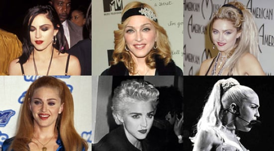 Sugar Shout Out: 15 of Madonna's Hottest Hairstyles