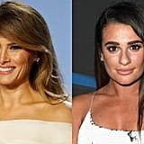 Lea Michele as Melania Trump