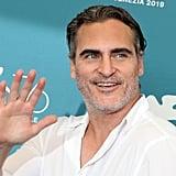 Joaquin Phoenix at the Joker Photocall