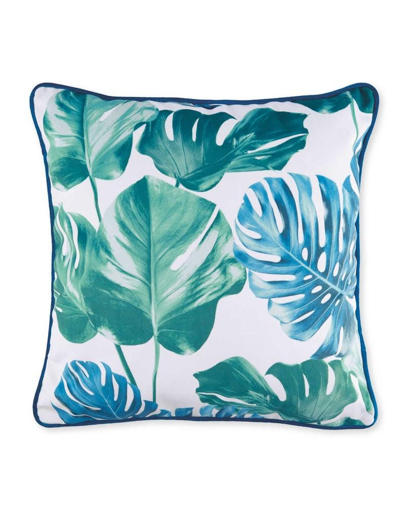 Aldi Mostera Leaf Cushion