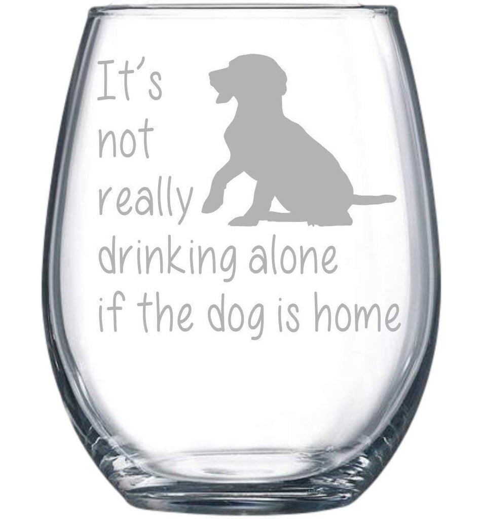 C&M Personal Gifts Stemless Wine Glass