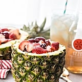 Fruit Salad in Pineapple Bowl