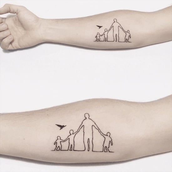 Tiny Fatherhood Tattoos