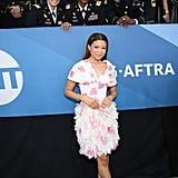 Storm Reid Giambattista Valli Dress at SAG Awards 2020