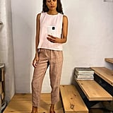 Lou & Grey Crosshatch Linen Pants