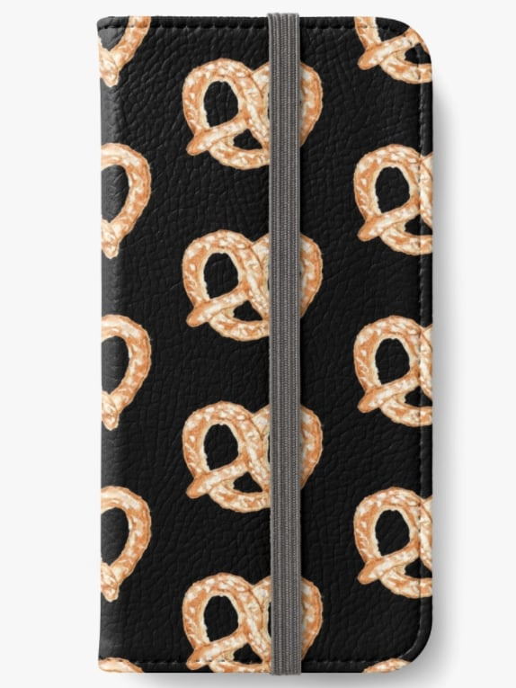 Pretzel iPhone Wallet ($35)