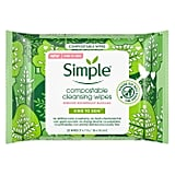 Simple Skincare Compostable Wipes