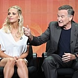 Sarah Michelle Gellar and Robin Williams shared the stage at the panel for The Crazy Ones