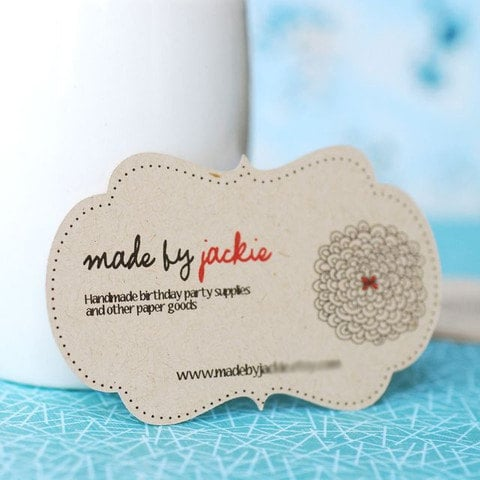 Unique shape business card ideas on etsy popsugar career and unique shape reheart Gallery