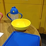 One of our favorite sippy cups, the Lollacup, is expanding to include tableware for tots.