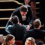 Chris Pulled Bradley Cooper Aside