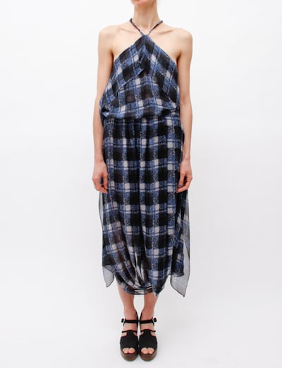 The ultimate seasonless dress, we'd wear this ethereal plaid Rachel Comey Waterfall Silk Dress ($257, originally $856) with a black turtleneck, tights, and knee-high boots for now, and with sandals come Spring.